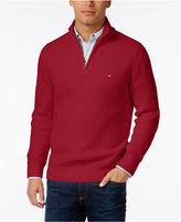 Tommy Hilfiger Men's Harrington Quarter-Zip Sweater