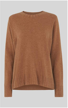Whistles Cashmere Crew Neck Sweater