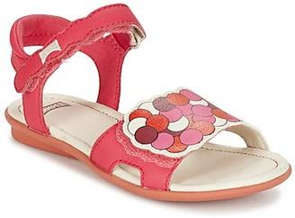 Camper TWSS girls's Sandals in Pink
