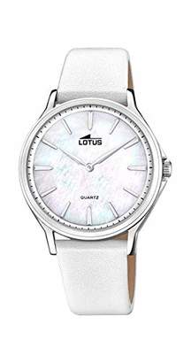 Lotus Quartz Watch with Real Leather Strap 18517/A