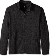 Dockers Big and Tall Long Sleeve Solid Full Zip Sweater Fleece Mock