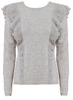 Exclusive for Intermix Gigi Ruffle Shoulder Sweater