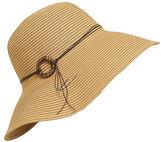 Boardwalk Style Women's Sunhats Natural - Natural Coconut-Ring UPF 50+ Floppy Sunhat