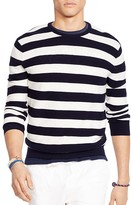 Polo Ralph Lauren Striped Cotton Blend Sweater