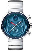 Movado Bold Edge Blue Dial Stainless Steel Chronograph Watch