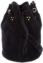 Jerome Dreyfuss Suede Popeye L Bag