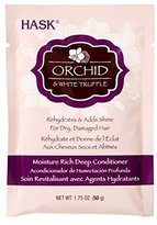 Hask Moisture Orchid & White Truffle Rich Deep Conditioner Packette, 1.75 Ounce