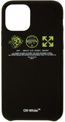 Off-White Black and Yellow Multi Symbols iPhone 11 Pro Case