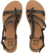 Billabong Women's Tan Linez Toe Ring Sandal