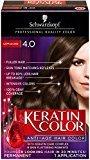 Schwarzkopf Keratin Hair Color, Cappuccino 4.0, 2.03 Ounce