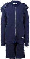 Aalto zipped hooded coat