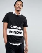 Cheap Monday Panel Logo T-Shirt