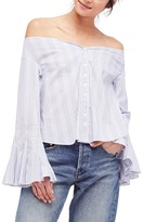 Free People Women's March To The Beat Off The Shoulder Top