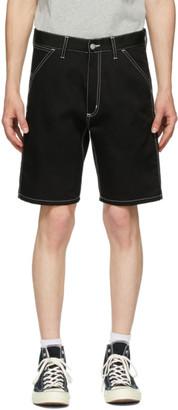Carhartt Work In Progress Black Penrod Shorts
