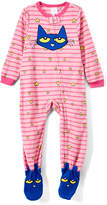 Rashti & Rashti Pete the Cat Pink Footie Pajamas - Infant, Toddler & Girls
