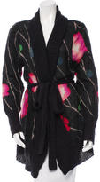 Kenzo Belted Mohair Cardigan