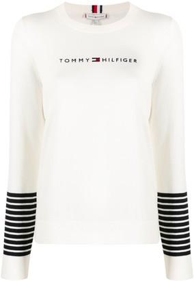 Tommy Hilfiger Essential Stripe Cuff jumper
