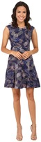 Rebecca Taylor Sleeveless Garden V-Neck Dress