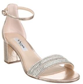 Nina Women's Elenora Embellished Sandal Women's Shoes