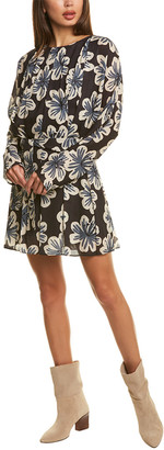 Dodo Bar Or Mika Silk-Blend Mini Dress