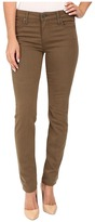KUT from the Kloth Diana Skinny Jeans in Military Olive