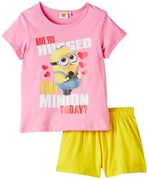 despicable me Girl's 25DEPRF401 Pyjama Set