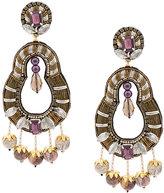 Ranjana Khan embellished ball earrings