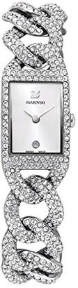 Swarovski Cocktail Watch, Metal Bracelet (Silver) Watches