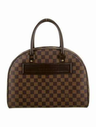 Louis Vuitton Damier Ebene Nolita Bag Brown