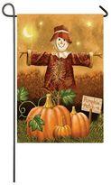 """Evergreen Sublimated Suede """"Pumpkin Patch"""" Scarecrow Indoor / Outdoor Garden Flag"""