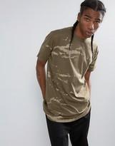 Maharishi Camo Longline T-shirt