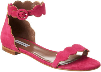Tabitha Simmons Pearl Suede Sandal