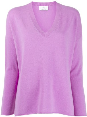 Allude V-neck jumper