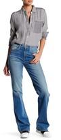 Genetic Los Angeles Hepburn Distressed Wide Leg Jean