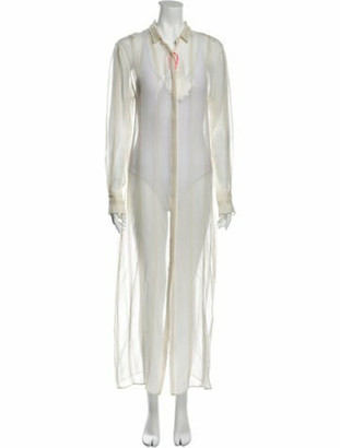 Brunello Cucinelli Silk Long Dress w/ Tags