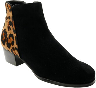 David Tate Taxi Genuine Calf Hair Ankle Boot
