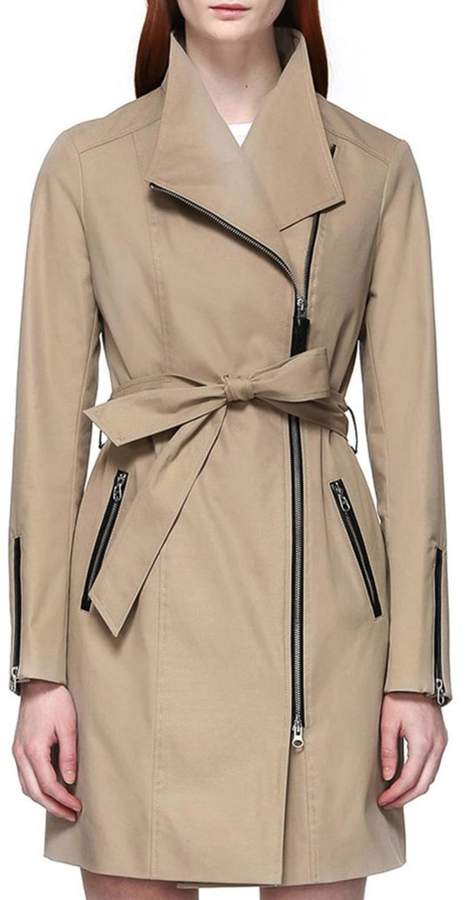 Mackage Estella Belted Trench