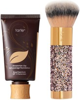 Tarte Amazonian Clay 12-Hour Foundation with Brush