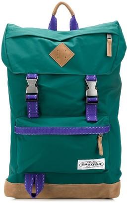 Eastpak Buckled Logo Patch Backpack