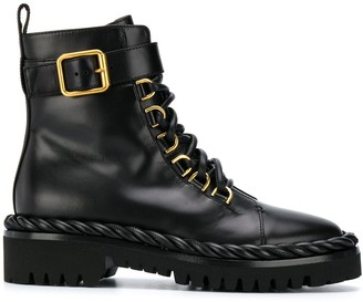 Valentino The Rope combat boots