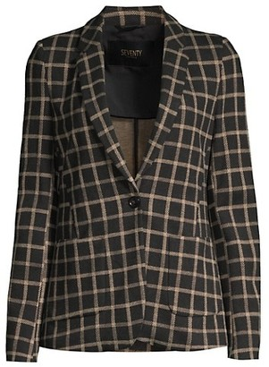 Seventy Wool Check Blazer