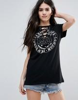 Brave Soul Tie Up T-Shirt