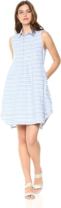 Sharagano Women's Stripe Dress
