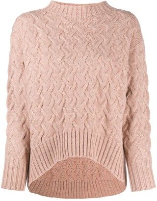 Drumohr Cable Knit Sweater