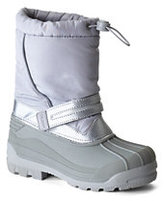 Classic Coed Snow Plow Boots-Dark Charcoal Heather Blocked