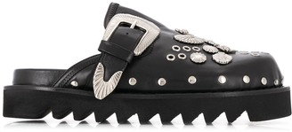 Toga Pulla Buckled Clogs