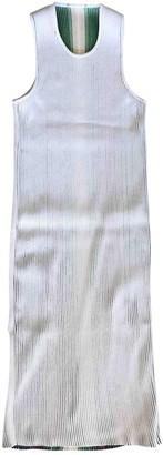 Marco De Vincenzo White Viscose Dresses