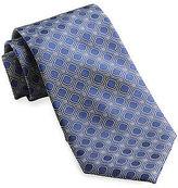 Rochester Square Geo Silk Tie Casual Male XL Big & Tall