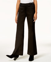 INC International Concepts Anna Sui x Satin Wide-Leg Pants, Created for Macy's