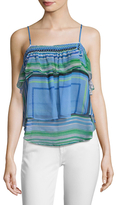 Tracy Reese Flounce Cami Top